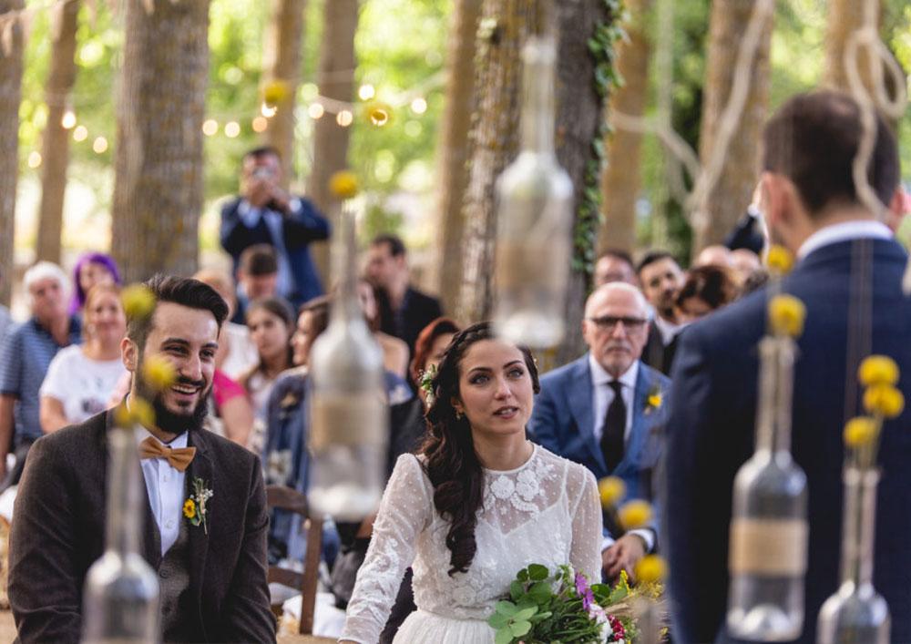 matrimonio savoca agriturismo piazza armerina sicilia agrisavoca  la celebrazione nel bosco