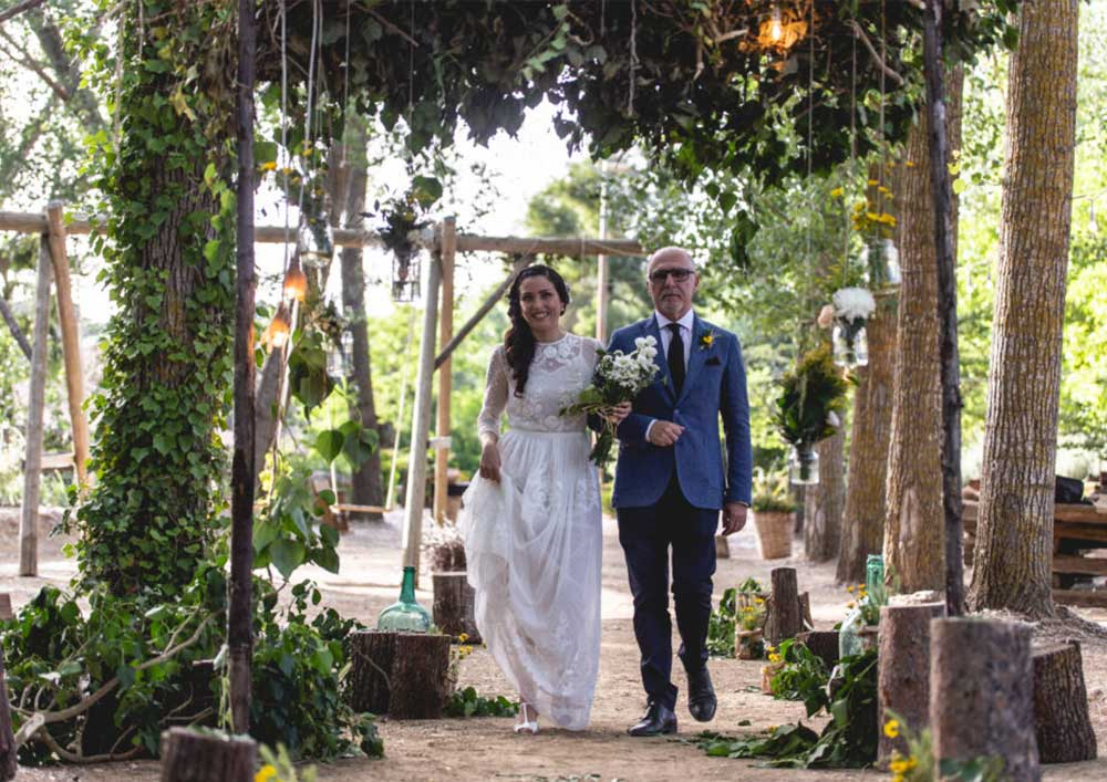 Marriage savoca farm Piazza Armerina Sicily agrisavoca the celebration in the woods